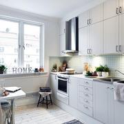 45平米小户型干净优雅家庭厨房装修效果图