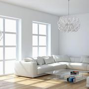 白色调室内效果图片