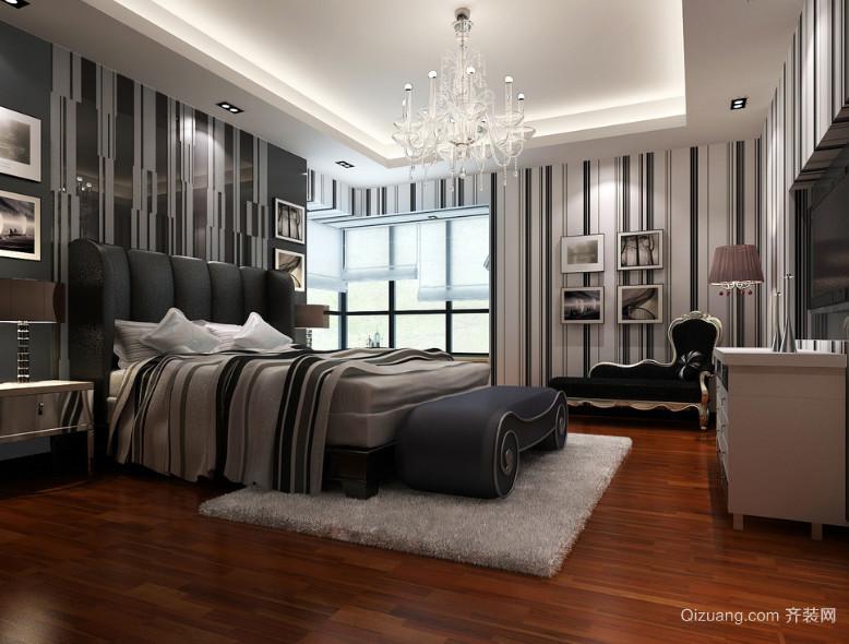 2016唯美的现代大户型欧式卧室装修效果图