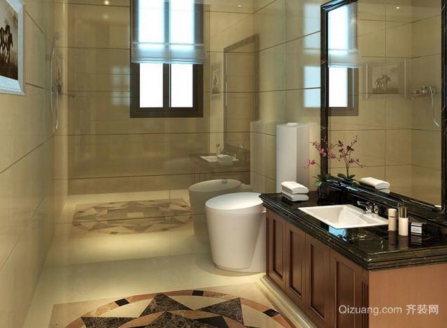 复式楼新古典风格卫生间装修效果图