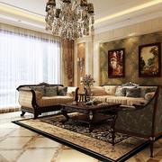 欧式经典风格窗帘装饰