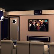 大户型宜家风格家庭影院装修效果图