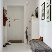 北欧风格小型玄关装饰