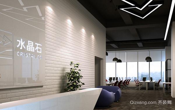 200平米大型现代简约风格北京写字楼装修图