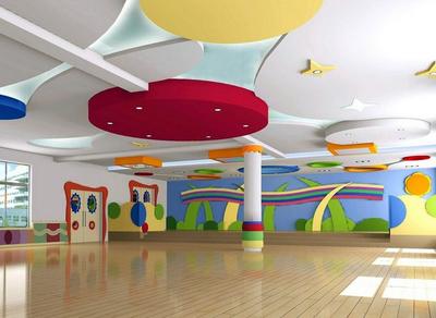 大型现代简约风格幼儿园环境设计图