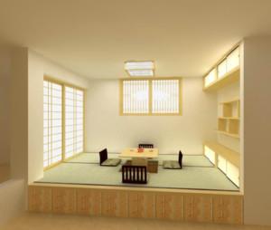 2016日式小户型装修榻榻米效果图实例欣赏
