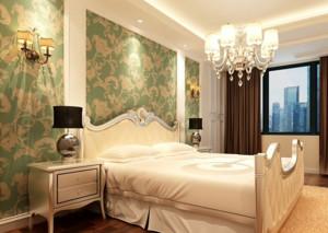 2016欧式大户型卧室背景墙装修效果图鉴赏