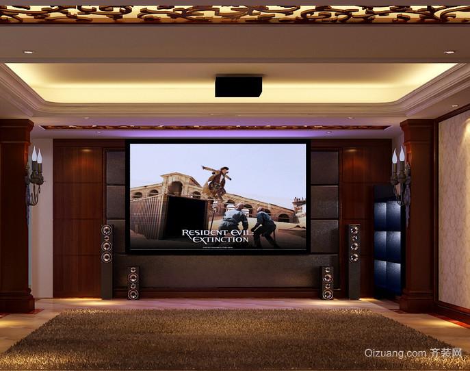 别墅精致家庭影院装修效果图