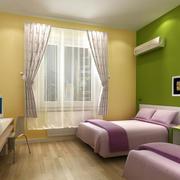 宾馆现代化床头背景墙装饰
