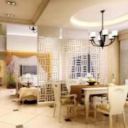 2016精致的大户型欧式唯美室内餐厅装修效果图
