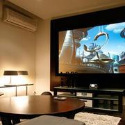 环境优雅家庭影院装修效果图