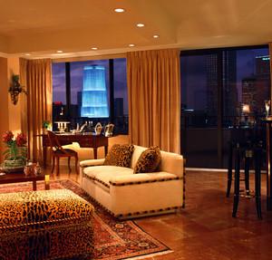 三居室轻快风格新房装修效果图