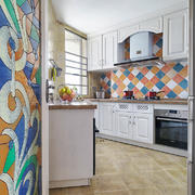 北欧复式楼40平米小户型厨房装修效果图