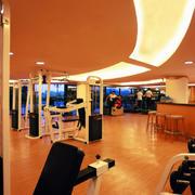 大型自然风格健身房装修效果图