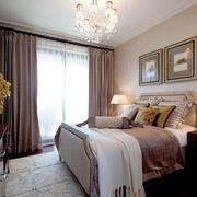 复式楼新古典风格卧室装修效果图