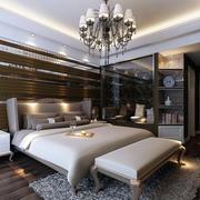 后现代风格别墅卧室装修效果图
