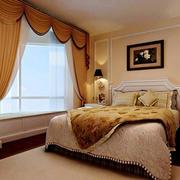 简欧风格卧室窗户装饰