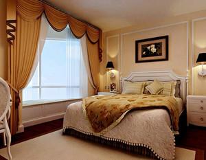 海景别墅奢华简欧风格卧室装修效果图
