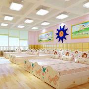 幼儿园清新简约风格窗户装饰
