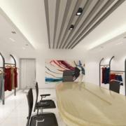 2016都市现代精致的小服装店装修效果图鉴赏