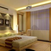 大户型欧式卧室床头背景墙装修效果图鉴赏