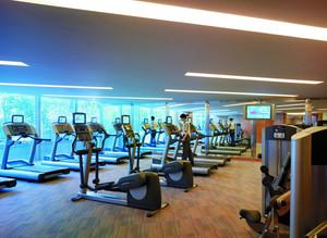 500平米豪华健身房装修效果图