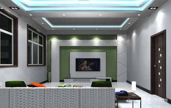 110平米自然风格新房装修效果图