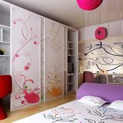 时尚女生单身公寓卧室装修效果图