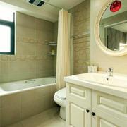 居民楼现代简约风格卫生间装修效果图