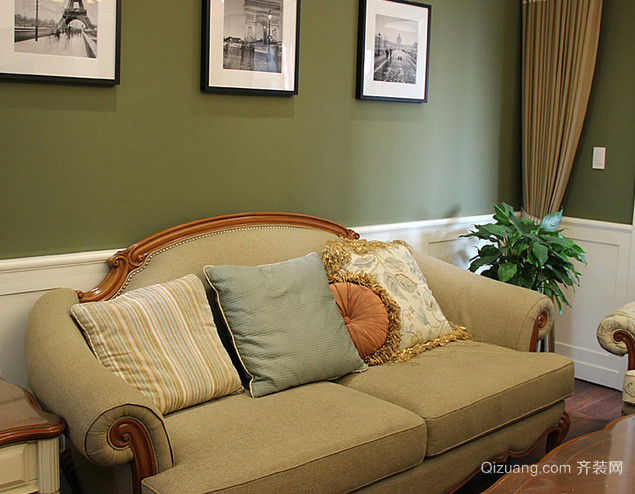 80平米现代简约风格楼房客厅装修效果图