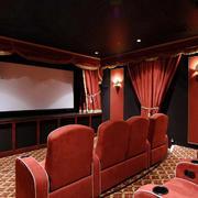 大户型现代风格家庭影院装修效果图