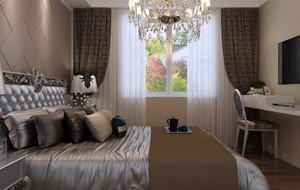 卧室欧式风格窗帘装饰