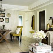 韩式客厅沙发简约样板间装饰