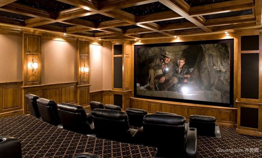 后现代风格家庭影院装修效果图
