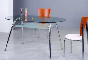 118平米实用型玻璃茶几效果图片