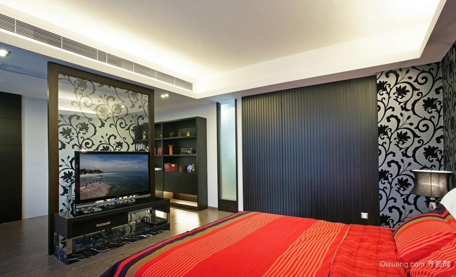 个性都市30平米大卧室隔断设计效果图