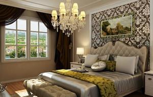 简欧风格卧室床头背景墙装饰