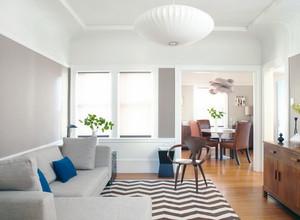 2016小户型唯美欧式家装客厅背景墙装修效果图