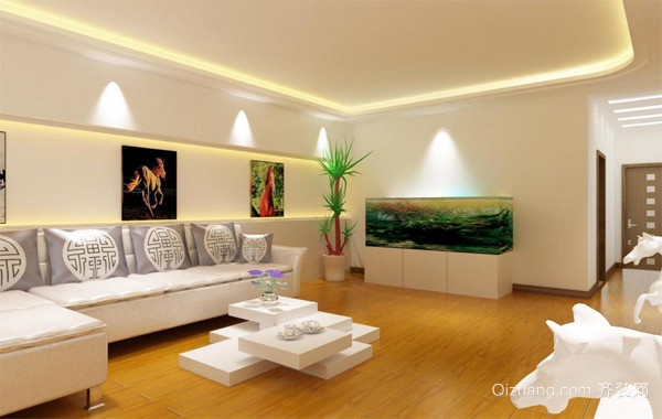 100平米时尚风格新房装修效果图