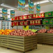 水果店简约风格Led灯饰设计