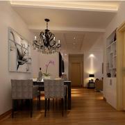朴素简约小户型家居餐厅装修设计效果图