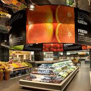 水果店大型吧台装饰