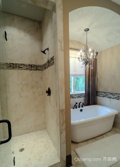 新古典风格别墅卫生间装修效果图