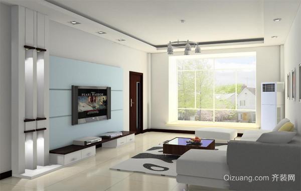 138平米精装型室内设计装修效果图