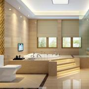 中式风格卫生间吊顶装饰