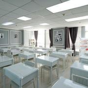 小学教室简约灯饰装饰