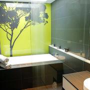 复式楼现代简约风格卫生间装修效果图