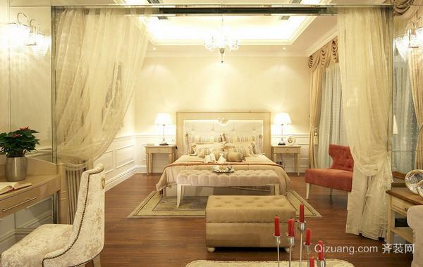 打造特色品位简欧风格卧室装修效果图