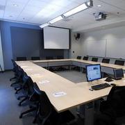 会议室简约风格投影仪装饰