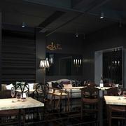 私人别墅欧式精致小型酒吧装饰效果图